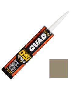 OSI Quad Window Door Siding Sealant Caulk 10oz Gray 557 12ct