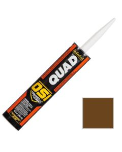 OSI Quad Window Door Siding Sealant Caulk 10oz Brown 265 12ct