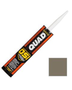 OSI Quad Window Door Siding Sealant Caulk 10oz Gray 549 12ct