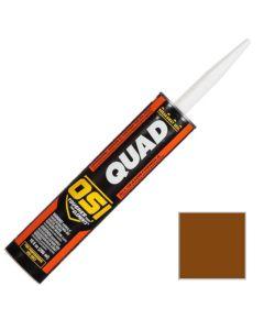OSI Quad Window Door Siding Sealant Caulk 10oz Brown 266 12ct