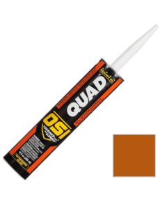 OSI Quad Window Door Siding Sealant Caulk 10oz Brown 292 12ct