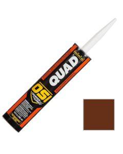 OSI Quad Window Door Siding Sealant Caulk 10oz Brown 297 12ct