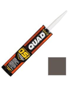 OSI Quad Window Door Siding Sealant Caulk 10oz Gray 555 12ct