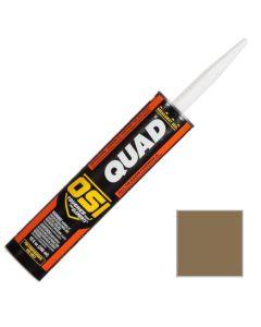 OSI Quad Window Door Siding Sealant Caulk 10oz Brown 281 12ct