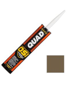 OSI Quad Window Door Siding Sealant Caulk 10oz Brown 274 12ct