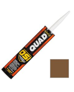 OSI Quad Window Door Siding Sealant Caulk 10oz Brown 269 12ct