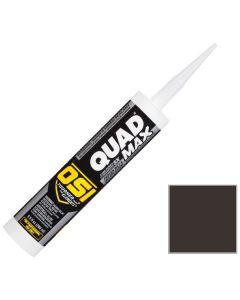 OSI Quad Max Window Door Siding Sealant Caulk 10oz Brown 203 12ct