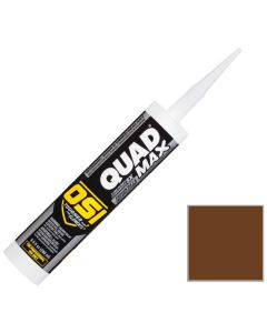 OSI Quad Max Window Door Siding Sealant Caulk 10oz Brown 238 12ct