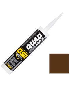 OSI Quad Max Window Door Siding Sealant Caulk 10oz Brown 259 12ct
