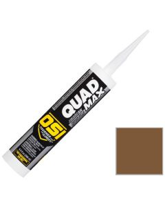 OSI Quad Max Window Door Siding Sealant Caulk 10oz Brown 269 12ct
