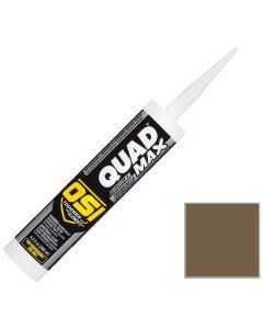 OSI Quad Max Window Door Siding Sealant Caulk 10oz Brown 274 12ct