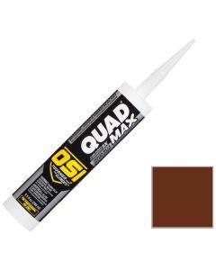 OSI Quad Max Window Door Siding Sealant Caulk 10oz Brown 297 12ct