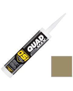 OSI Quad Max Window Door Siding Sealant Caulk 10oz Clay 322 12ct