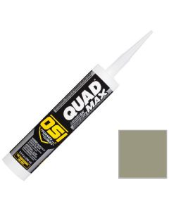 OSI Quad Max Window Door Siding Sealant Caulk 10oz Clay 329 12ct