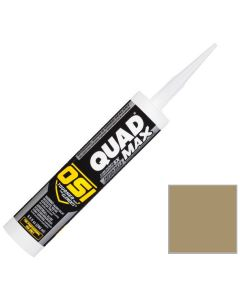 OSI Quad Max Window Door Siding Sealant Caulk 10oz Clay 338 12ct