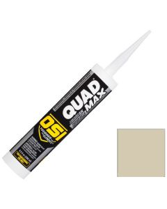 OSI Quad Max Window Door Siding Sealant Caulk 10oz Beige 427 12ct