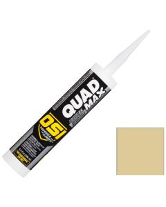 OSI Quad Max Window Door Siding Sealant Caulk 10oz Beige 445 12ct