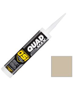 OSI Quad Max Window Door Siding Sealant Caulk 10oz Beige 472 12ct