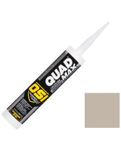 OSI Quad Max Window Door Siding Sealant Caulk 10oz Pearl Gray 541