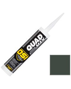 OSI Quad Max Window Door Siding Sealant Caulk 10oz Green 725 12ct