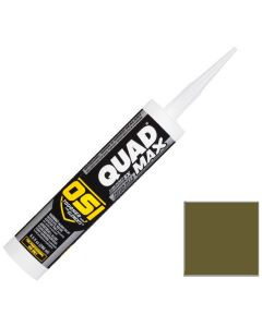 OSI Quad Max Window Door Siding Sealant Caulk 10oz Green 727 12ct