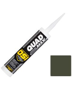 OSI Quad Max Window Door Siding Sealant Caulk 10oz Green 735 12ct