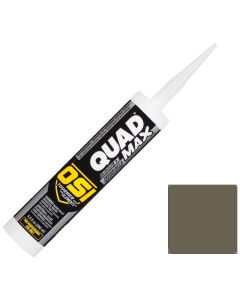 OSI Quad Max Window Door Siding Sealant Caulk 10oz Green 750 12ct