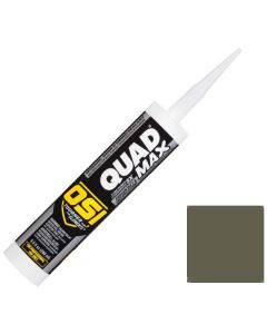 OSI Quad Max Window Door Siding Sealant Caulk 10oz Green 754 12ct