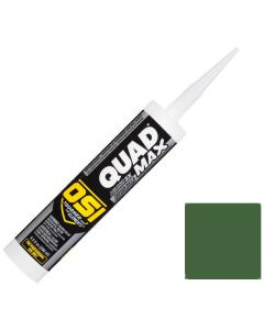 OSI Quad Max Window Door Siding Sealant Caulk 10oz Green 758 12ct