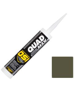 OSI Quad Max Window Door Siding Sealant Caulk 10oz Green 762 12ct