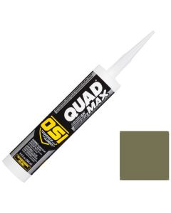 OSI Quad Max Window Door Siding Sealant Caulk 10oz Green 765 12ct