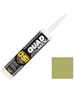 OSI Quad Max Window Door Siding Sealant Caulk 10oz Green 778 12ct