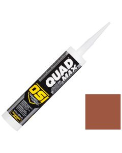 OSI Quad Max Window Door Siding Sealant Caulk 10oz Red 943 12ct