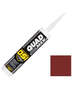 OSI Quad Max Window Door Siding Sealant Caulk 10oz Red 953 12ct