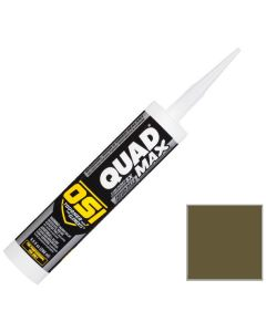 OSI Quad Max Window Door Siding Sealant Caulk 10oz Clay 342 12ct