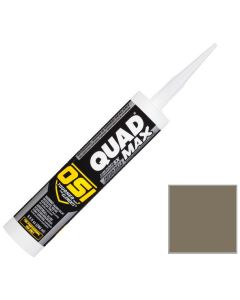 OSI Quad Max Window Door Siding Sealant Caulk 10oz Clay 347 12ct