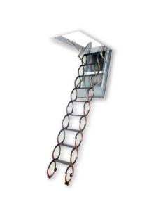 "FAKRO LSF 66859 Scissor Attic Ladder Fire Rated 25""x47"""