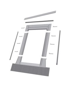 "FAKRO EH-C 2270 Hi Profile Tile Flashing for Curb Mount Skylight 22""x70"""
