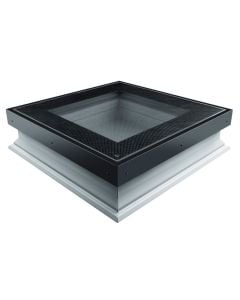 "FAKRO DXW DW6 3636 Walkable Flat Skylight 3x-Glazed 36""x36"""