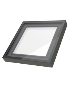 "FAKRO FXC 2222-L Fixed Curb Mount Skylight Laminated Low E 22.5""x22.5"""