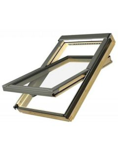 "FAKRO FTP-V L3 3055 Deck Mount Cen-Pivot Roof Window Laminated Lo E 30""x55"""