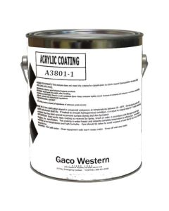 Gaco A38 Oyster Acrylic Coating Low VOC 1 Gallon