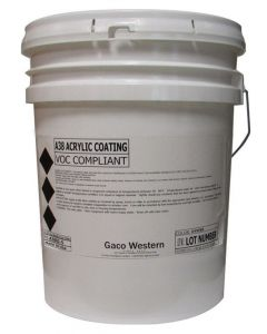 Gaco A38 Oyster Acrylic Coating Low VOC 5 Gallon