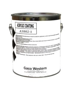 Gaco A38 Pewter Acrylic Coating Low VOC 1 Gallon
