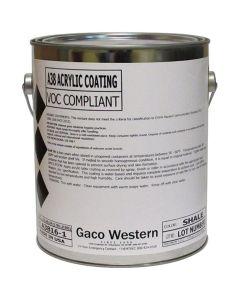 Gaco A38 Shale Acrylic Coating Low VOC 1 Gallon