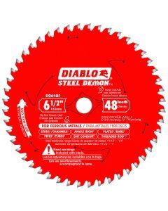 "Diablo D0648F Steel Demon Blade 6.5"" 48 Tooth"