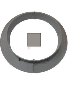"ChemLink F1366 ECurb Round 5"" Diameter 12ct-Gray"