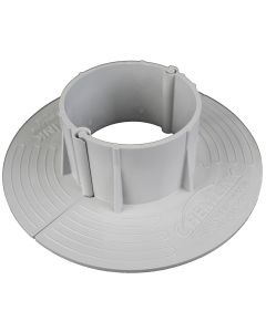 """ChemLink F1333 E-Curb Round Two Piece Circle 3"""" Diameter Gray"""