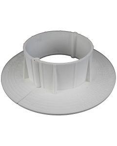 "ChemLink F1357 E-Curb Round Two Piece Circle 4"" Diameter White"
