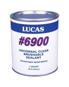 Lucas 6900 Universal Brushable Sealant Quart Clear